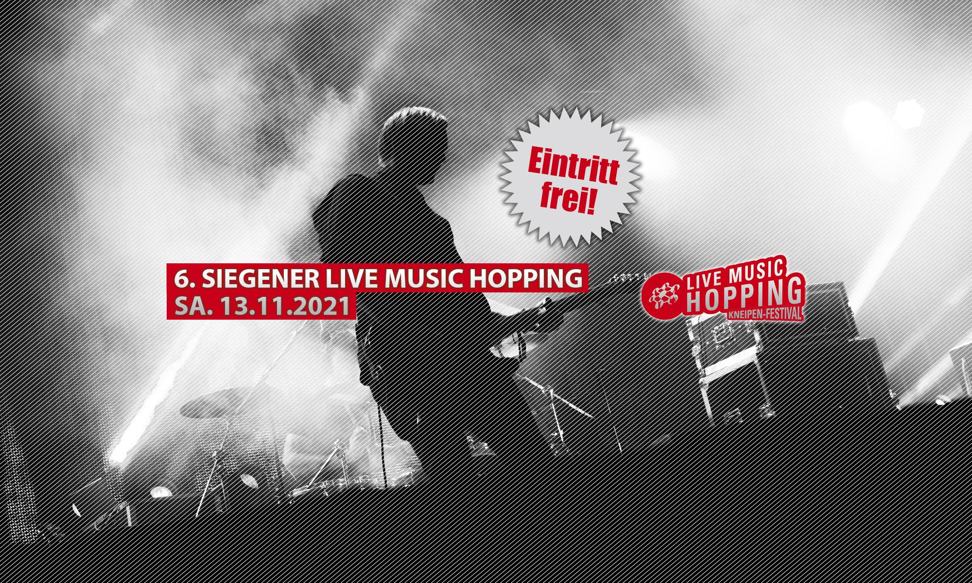 Siegener Live Music Hopping Kneipen-Festival